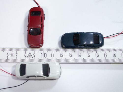 B47-h0 3 unidades coches automóviles con 4 led luz de aviso luces de emergencia 12-24v AC//DC