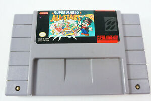 Super-Mario-All-stars-Super-Nintendo-System-SNES-Game-Cart-Only-Tested