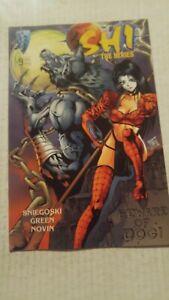 Shi-The-Series-9-April-1998-Crusade-Comics-Tucci-Snieegoski-Green-Novin-VARIANT