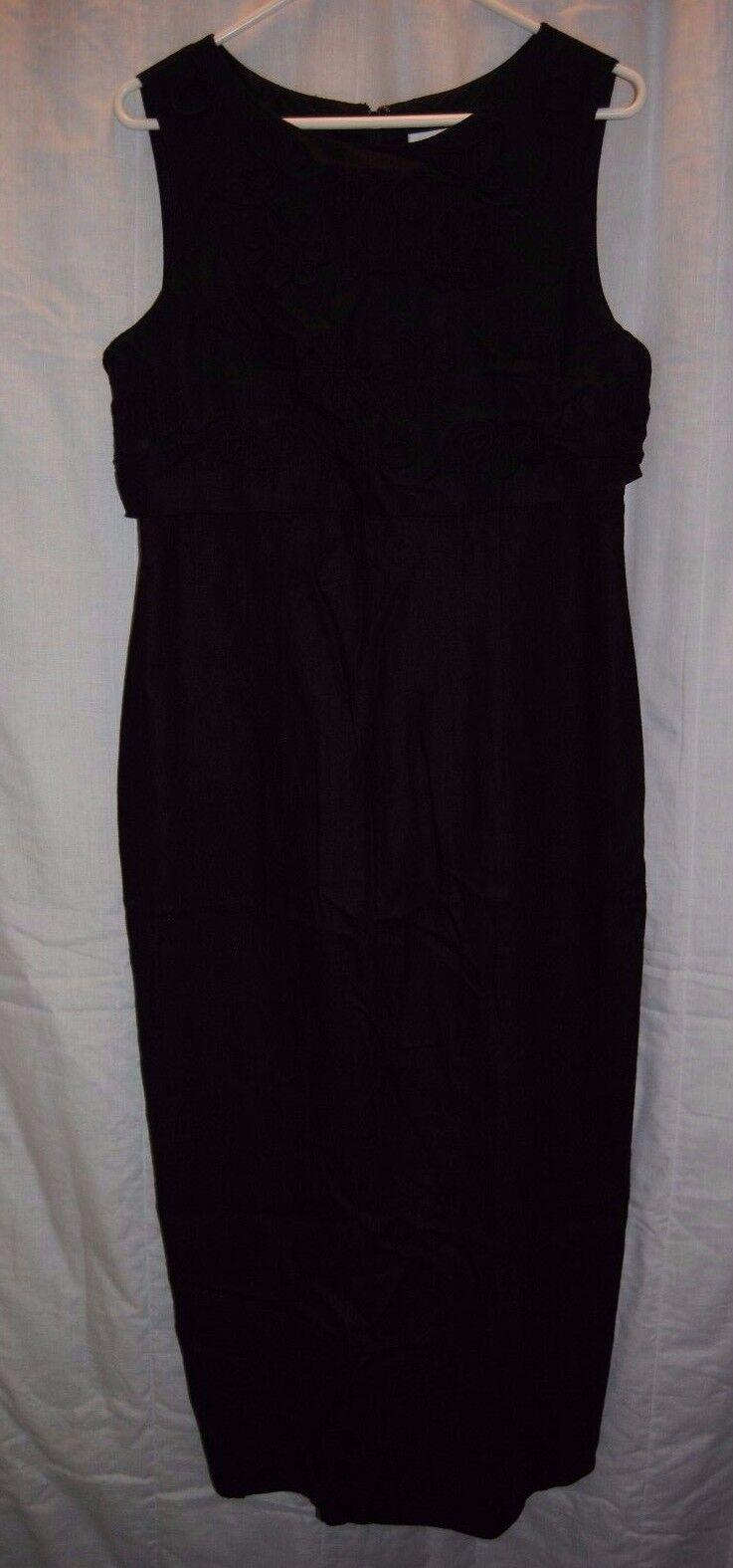 Women's JESSICA HOWARD Black Sleeveless Dress Size 10
