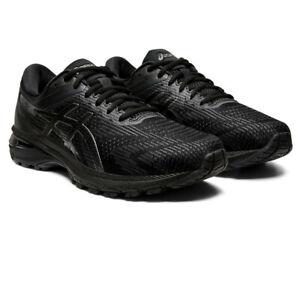 Asics-Homme-GT-2000-8-Chaussures-De-Course-Baskets-Baskets-Noir-Sport-Respirant