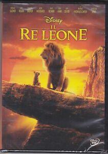 Dvd-Disney-IL-RE-LEONE-THE-MOVIE-IL-FILM-LIVE-ACTION-nuovo-2019