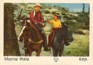 DUTCH-MOVIE-STAR-GUM-CARDS-No-104-MONTE-HALE