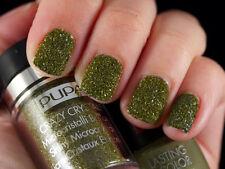PUPA NAIL ART CRAZY CRYSTALS 012 Urban Khaki - Nail Polish Look