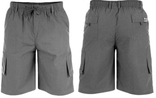 NEW Duke D555 Mens Cargo Shorts Designer Elasticated Waist Casual Combats M-6XL