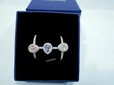 b4d971770 item 5 Swarovski Christie Ring Set of 3, S Pink/clear/lavender color Crystal  5143555 -Swarovski Christie Ring Set of 3, S Pink/clear/lavender color  Crystal ...