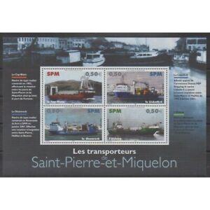 Saint-Pierre-et-Miquelon-Blocs-et-feuillets-2004-No-BF10-Navigation