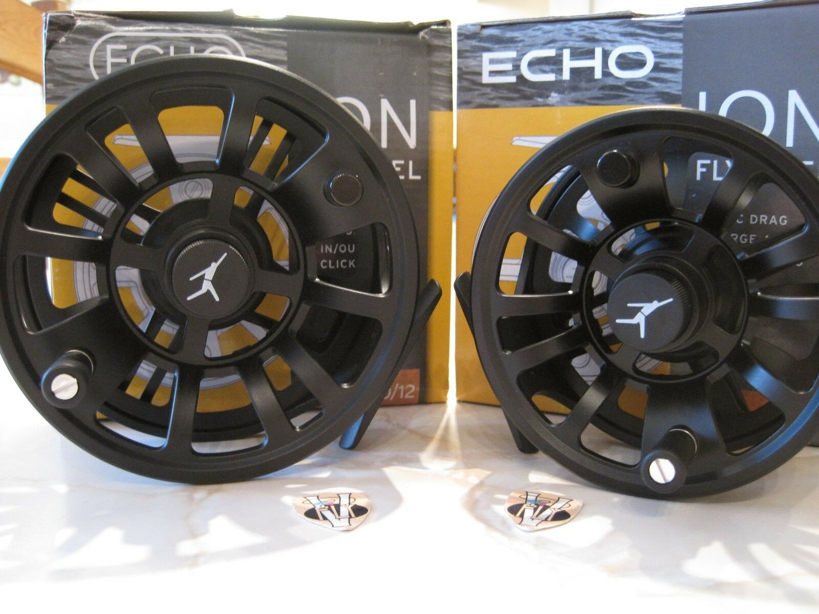 Echo Ion Large Arbor Trout Salmon & Saltwater Fly Fishing Reel 6 Größes
