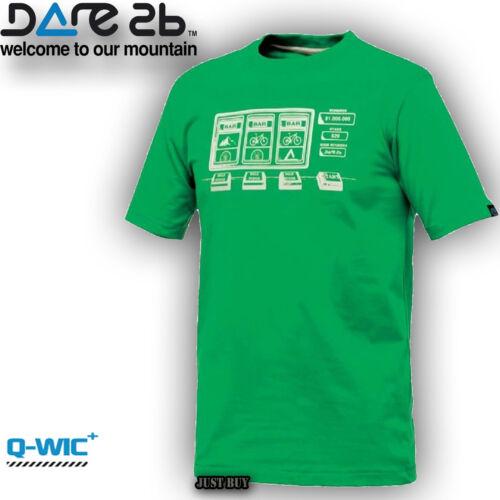 Dare2b T Shirt Active Tee Jackpot Walk Outdoor Gym Sport Running Cycling Top