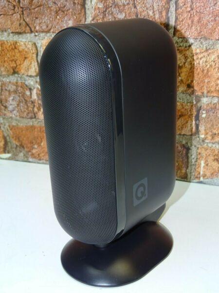 1 X Q Acoustics 7000lri Matte Black Home Theatre Surround Sound Loud Speaker Zacht En Antislippery