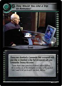Star Trek CCG 2E FOIL Winn Adami 1U228
