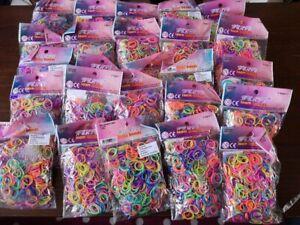Paquets-de-plusieurs-couleur-Loom-Bands-600-bandes-Rapide-Livraison-gratuite-Nation-Wide