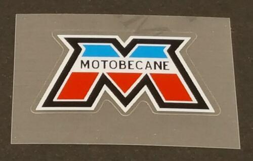 Motobecane Head Badge Decal French Colors sku Moto701