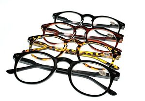 MY67Spring-Hinged-Oval-Fashion-Reading-Glasses-Retro-Classic-4-Colours-1-5-2-0