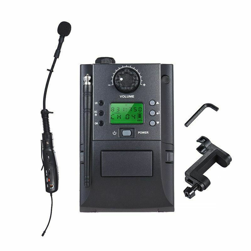 Professionel Wireless Musikinstrumente Microphone Mikrofon System for Violin UHF