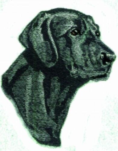 Large Embroidered Zippered Tote - Black Labrador Retriever ...