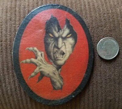 patch backpack 666 biker goth black devil motorcycle baphomet