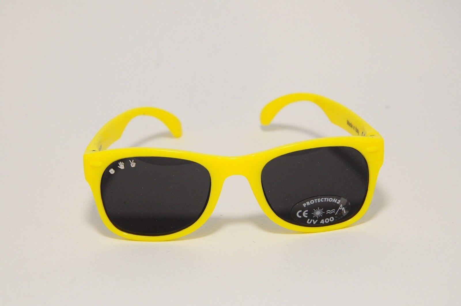 508a0695c050 Roshambo Baby Sunglasses Simpson Chewable Plastic BPA 100 UV Yellow ...