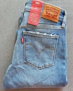 Damen-Jeans-LEVIS-LEVI-S-712-Slim-W25-L32