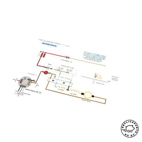 Porsche 356 B T6 C 1962-1965 Electrical Wiring Manual WKD3566BC