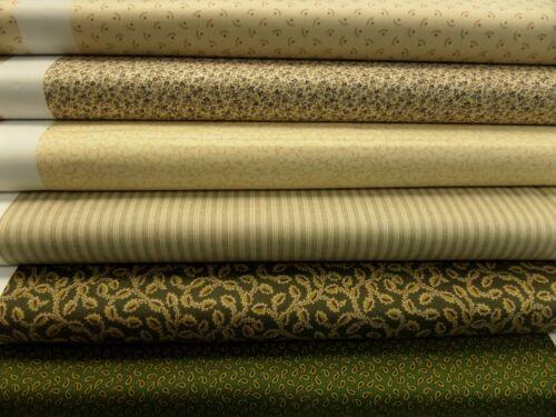 Designs par 25 cm x 110 cm 100/% coton ◾ PATCHWORKS retenus de Makower est partie