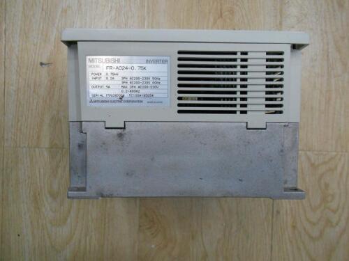 1pcs Used Mitsubishi Inverter FR-A024-0.75K 220V 0.75KW