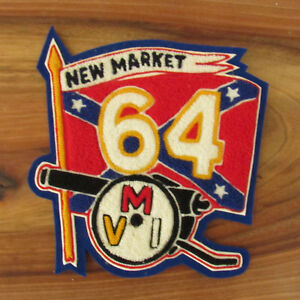 Vintage-BATTLE-OF-NEW-MARKET-Virginia-1864-Flag-Sew-On-Patch