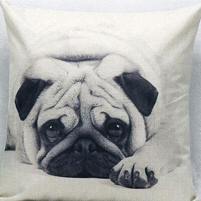 Vintage Cotton Owl Linen Pillow Case Sofa Waist Throw Cushion Cover  Home Decor