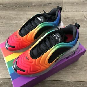 Details about Nike Air Max 720 BE TRUE Rainbow Multicolor CJ5472-900 LGBTQ 9.5 100% Authentic