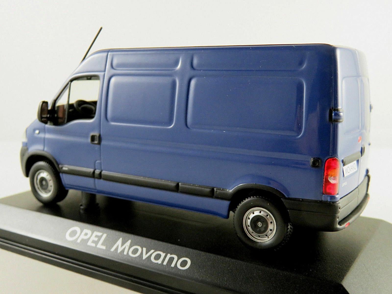 OPEL MOVANO 3500 TOLE 2003 PHASE 2 2 2 blue NOREV 9163272 1 43 UTILITAIRE blue blueE 92e8e0