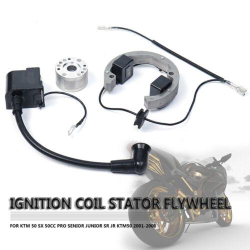 KTM50 SX 50cc Pro Senior Junior SR JR 01-08 Ignition Coil Stator Flywheel fb TPI