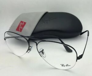 75cbc7623e New RAY-BAN Eyeglasses RB 6589 2509 59-15 140 Aviator Semi Rimless ...