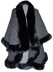 mujer-capa-piel-sintetica-gris-Poncho-Towie-Lucy-Meck-Abrigo-De-Invierno-8-24