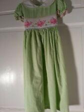 cca1556ce item 1 Marmellata Easter /Spring Smocked Green & White Dress Size 6 Cute  -Marmellata Easter /Spring Smocked Green & White Dress Size 6 Cute