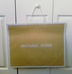 2ae6a5a9b03b ONE AUTHENTIC MICHAEL KORS PAPER SHOPPING BAG 24