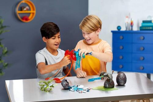 Mega Construx Breakout Beasts TEMPYST,series 1 Building Set with Slime!!!!!