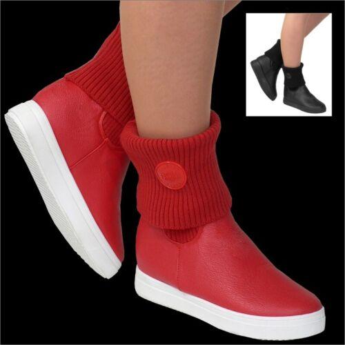 Damen Stiefel Winter Schuhe Stiefelette Outdoor Boots Winterstiefel Stulpen E71
