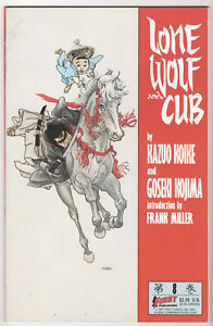 Lone-Wolf-amp-Cub-VF-LOT-14-Frank-Miller-Bill-Sienkiewicz-1987-SHOGUN-ASSASSIN