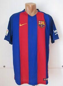 A imagem está carregando Barcelona-2016-2017-Camisa-De-Futebol-Casa-Soccer- bbbfb1d85c5c7