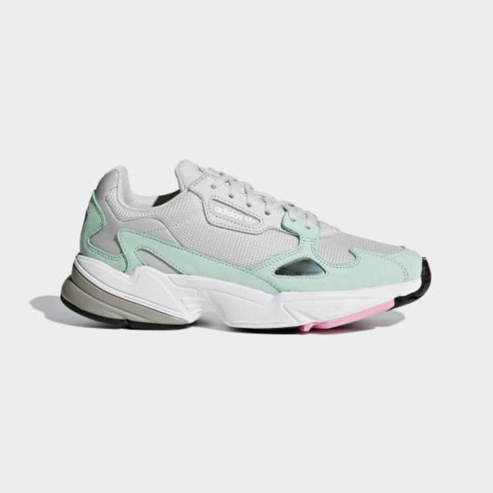 Adidas Adidas Adidas Originals FALCON B28127 grigio  Easy verde Donna  scarpe scarpe da ginnastica 5e7330