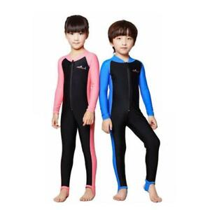 Details about Kids Boys Girls Anti,UV Swimsuit Surf Dive Suit Swimming  Costume Child Swimwear