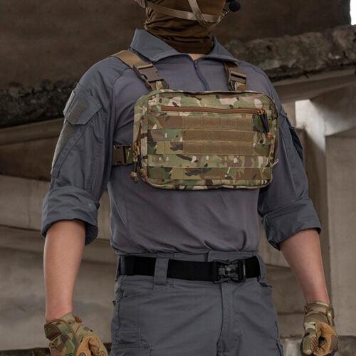 Tactical Hunting Molle Vest Chest Rig Tactical Vest Bag