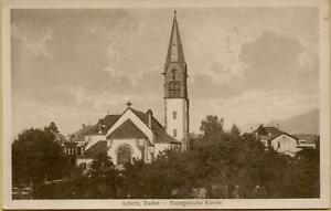 1595: Postkarte Ansichtskarte Achern, Baden - Evangelische Kirche