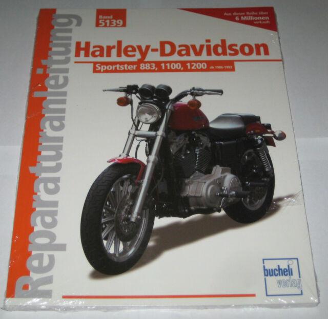 Manuale Riparazione Harley Davidson Evolution Sportster 883 1100 1200 (1986-1992