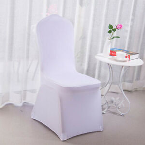 Phenomenal Details About Wedding Used Hotel Party High Quality Spandex Lycra Banquet Chair Cover Gmtry Best Dining Table And Chair Ideas Images Gmtryco