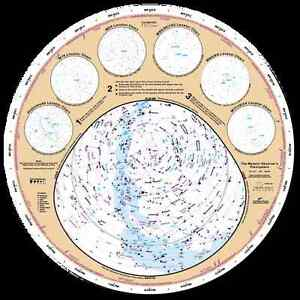 "Messier Observer's Planisphere - Large 18"" Star / Constellation Finder"