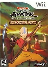 Avatar: The Last Airbender - The Burning Earth (Wii)  New RARE