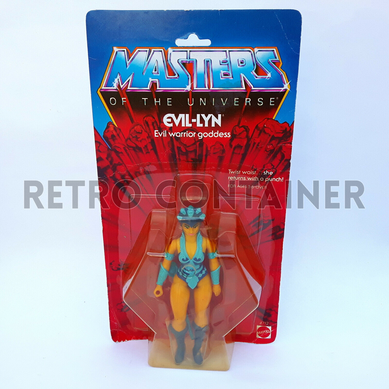 MOTU He-uomo e The  Masters of The Universe - Evil Lyn - Resealed Reautoded  Sconto del 60%