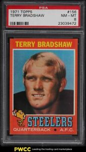 1971-Topps-Football-Terry-Bradshaw-ROOKIE-RC-156-PSA-8-NM-MT