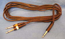 NEW BLACK  PARKER 10 FOOT STEREO GUITAR CORD  cable  FOR GUITAR AND AMP